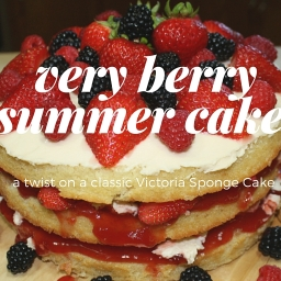 Very Berry Summer Cake