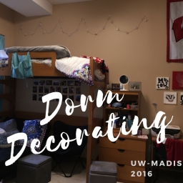 Dorm Decorating!