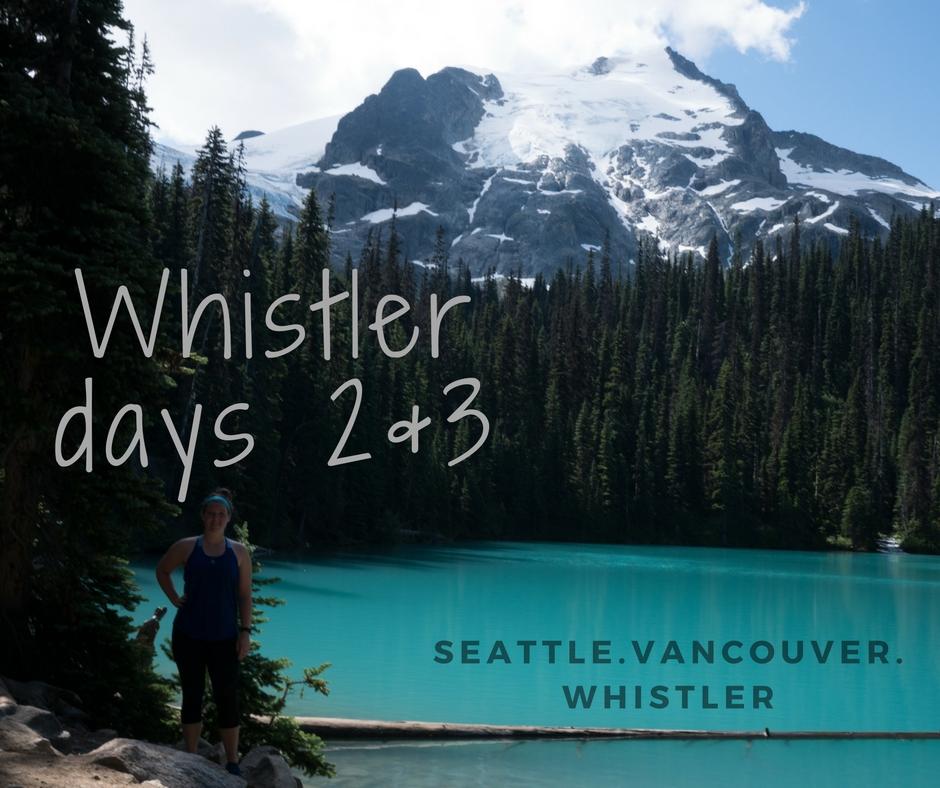 WHistlerdays 2&3