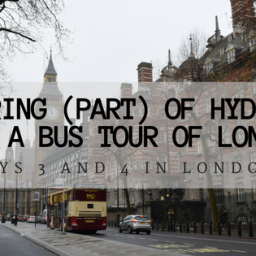Exploring (Part) of Hyde Park and Bus Tour of London
