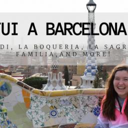Fui a Barcelona!