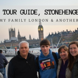 Playing Tour Guide, Stonehenge & Bath