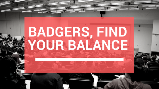 Badgers, Find your balance